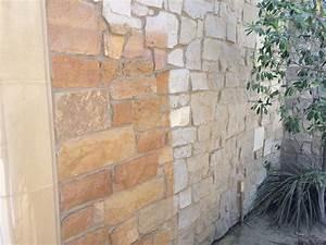 Mobile Dustless Sandblasting Paint Off Stone Wall KC