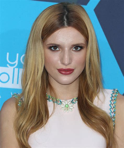 bella thorne long straight blonde hairstyle