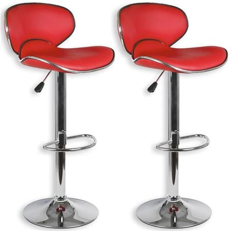 lot de 2 tabourets de bar lounge achat vente tabouret de bar mati 232 re du rev 234 tement