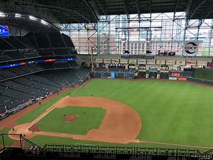 Minute Park Seating Chart With Seat Numbers Minute Park Section 427 Houston Astros