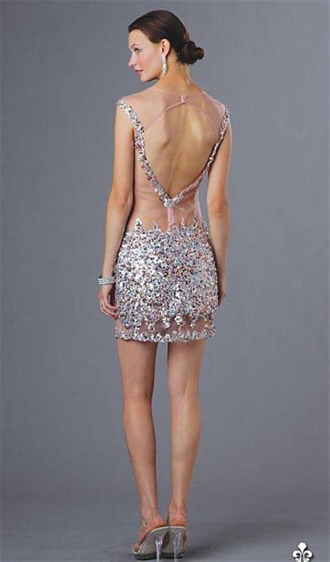 alyce  cap sleeve sexy sheer beaded short dress french novelty