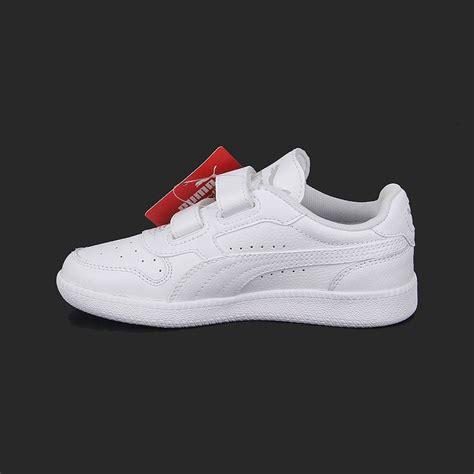 zapatillas puma  ninos blancas escolar talla