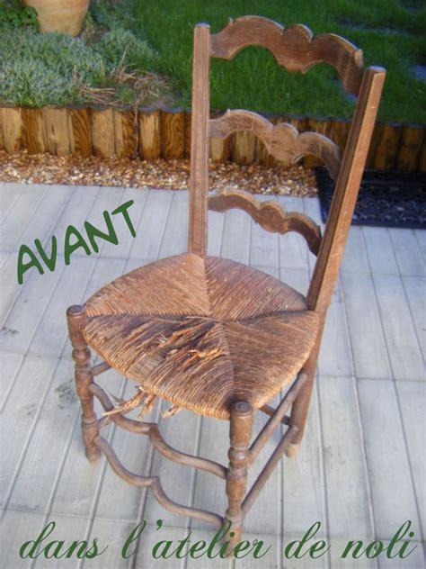 relooker chaise en paille relooker une chaise en paille 28 images comment