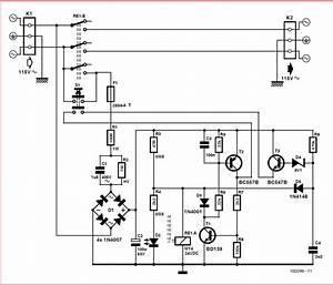 Economical On  Off Power Switch Schematic Circuit Diagram