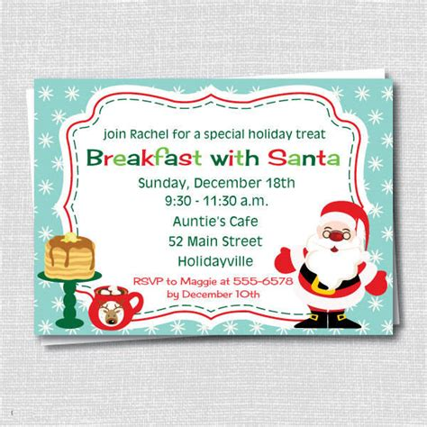 holiday breakfast invitations psd ai
