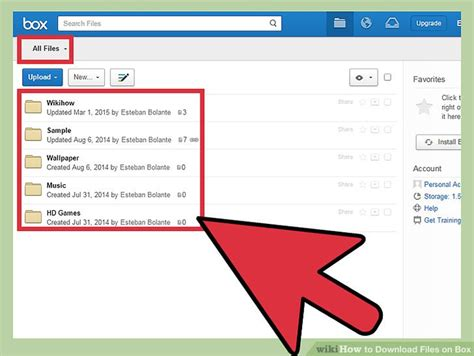 How To Download Files On Box 4 Steps (with Pictures