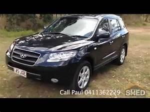 Hyundai Santa Fe 2006 : 2006 hyundai santa fe elite wagon black auto brisbane 1546 youtube ~ Medecine-chirurgie-esthetiques.com Avis de Voitures
