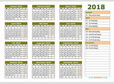 2018 kalender 2 2018 Calendar printable for Free Download India USA UK