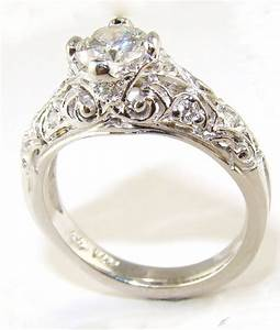 15 Photo Of Vintage Style Wedding Rings For Women