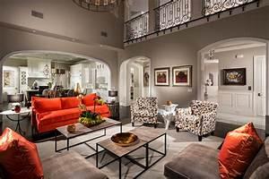Extraordinary Orange Sofa decorating ideas for Living Room