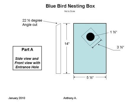 build peterson slant front style bluebird house feltmagnet