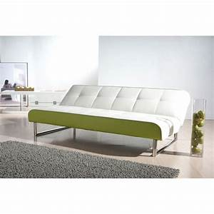 Seattle white and green futon sofa bed futons the o for Seattle sofa bed