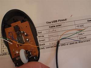 Mouse With Usb Port  Optional Internal Drive   6 Steps