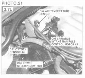 Oxygen Sensor Location  Where Is The Bank 2 Sensor 1