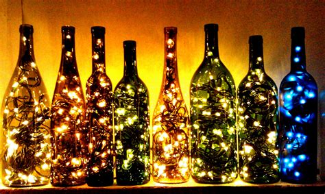17 thing you can do with empty wine bottles