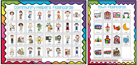 town  community helpers  transportation themes