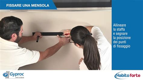 Supporto Mensole by Come Fissare Un Supporto Tv A Pareti In Cartongesso