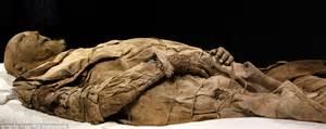 rare glimpse  swedens mummified bishop  lund body