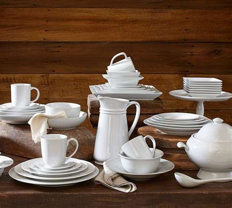 pottery barn dinnerware pottery barn s tips for choosing white dishes plus a
