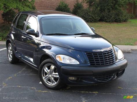 2001 Patriot Blue Pearl Chrysler Pt Cruiser Limited