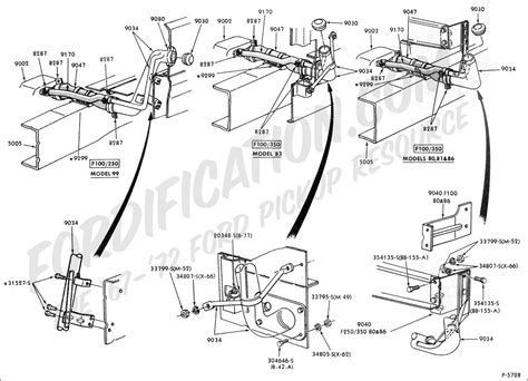 1983 F600 Ford Wiring Diagram by Ford Truck Technical Drawings And Schematics Section E