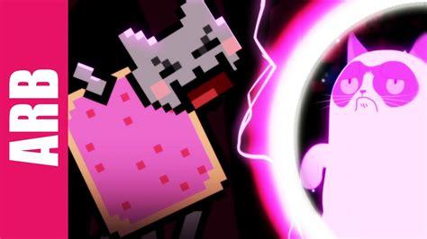 Grumpy Cat vs. Nyan Cat - ANIMEME RAP BATTLES - YouTube