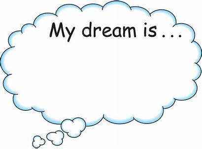 Dream Dreams Bubble Dreaming Clipart Clip Clouds
