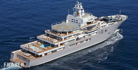 Yacht Andromeda by Andromeda Yacht Fraser