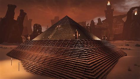 conan exiles update  introduces pyramids ruin gaming