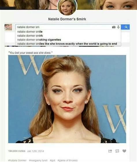 natalie dormer smirk natalie dormer smiles like she knows exactly when the