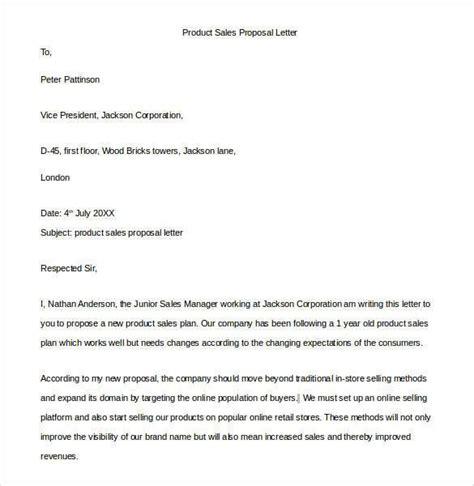 Sales Cover Letter Exle by 10 Letter Sles Word Excel Pdf Templates