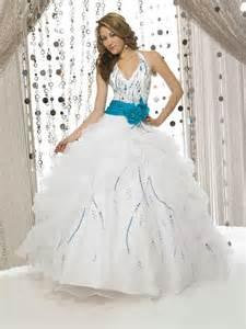 robe de mariã e milanoo robe de mariee turquoise et blanc robe de blanche