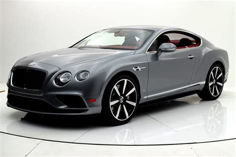 New 2017 Bentley Continental Gt V8 S Coupe For Sale