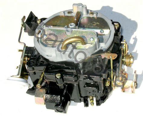 marine carburetor rochester quadrajetmv mercruiser  ebay