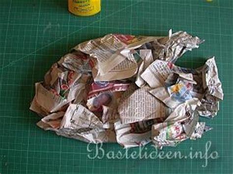 Le Aus Pappmache by Pappmache Bastelanleitung Pappmache Fisch