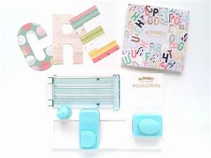 aly dosdall we r memory keepers alphabet punch board With we r memory keepers letter punch