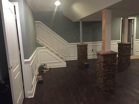 basement wrap stylish basement column idea creative columns