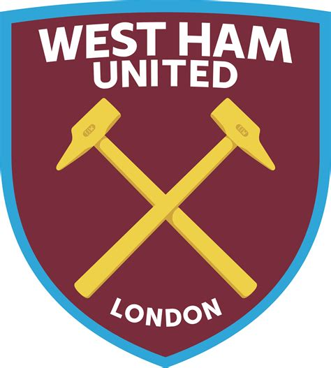 candle party favors west ham united embroidered patch uk football club badge