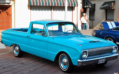 1962 Ford Falcon Ranchero - turquoise - fvr | Historic ...