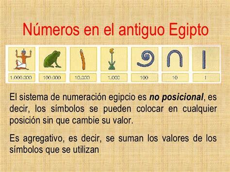 sistema de numeros egipcios 1 al 1000 sistemas de numeracion