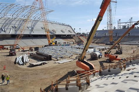 New Los Angeles Soccer Stadium Inching Toward Completion