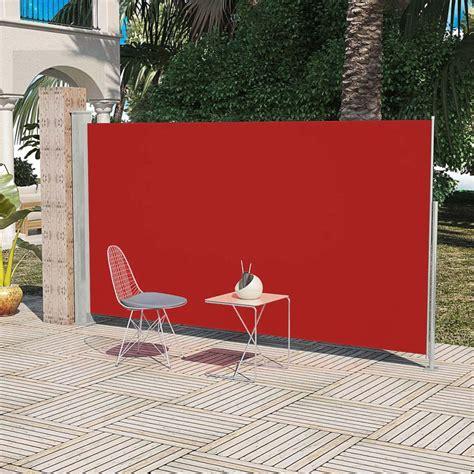 paravent auvent lateral retractable store vertical pour patio jardin terrasse ebay