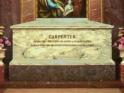 famous graves famous graves karen carpenter rest