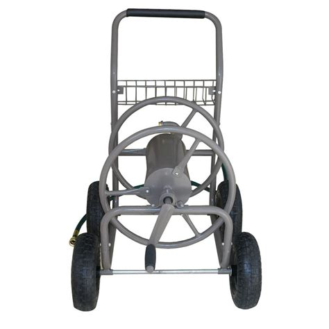garden hose reel lowes shop blue hawk steel 225 ft cart hose reel at lowes