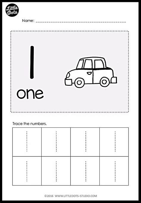 download 33 numbers worksheets and activities on numbers 1 to 10 for pre k level practice to
