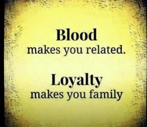 Blood Related Family Quotes