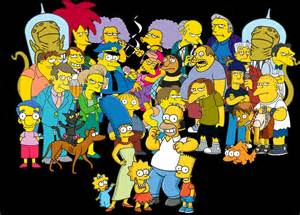 Simpsons Main Characters