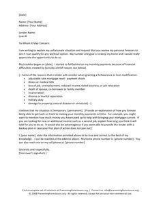 hardship letter sample letter examples sample
