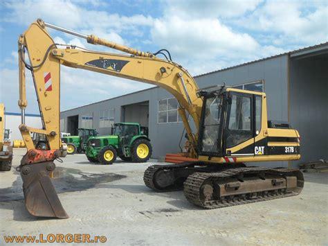 Used Caterpillar -317-b-l Crawler Excavators Year