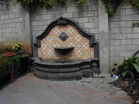 barroco design fuentes de pared